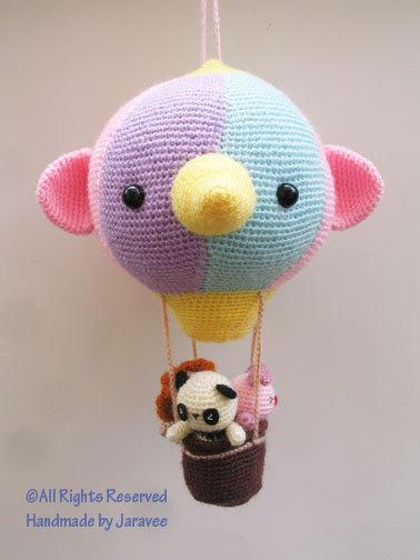 Air Balloon with Friends