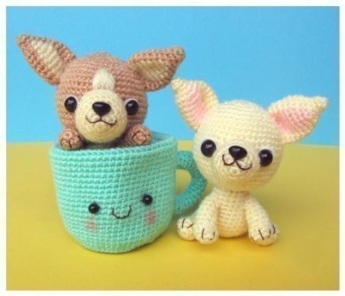 Chihuahua dog Amigurumi Crochet Pattern