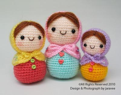 Matryoshka Doll - PDF Crochet Pattern