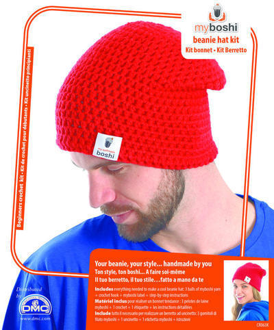 myBoshi Beanie Hat - Crochet Kit