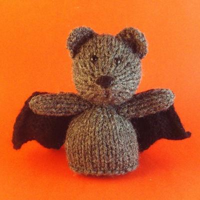 Bat Toy Knitting Pattern