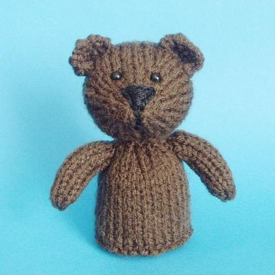 Bear Toy Knitting Pattern