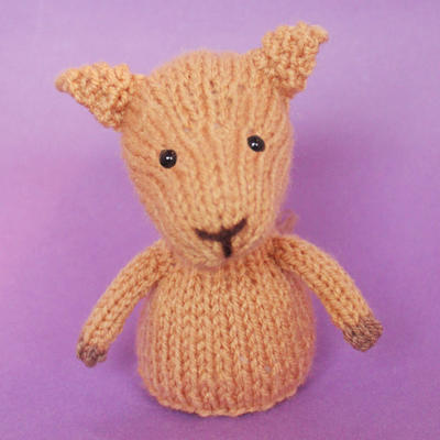 Camel Toy Knitting Pattern