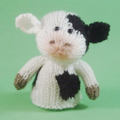 Cow Toy Knitting Pattern