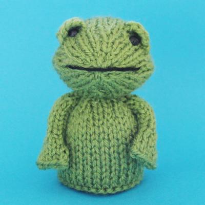 Frog Toy Knitting Pattern