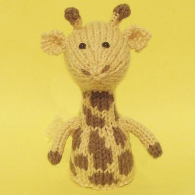 Giraffe Toy Knitting Pattern