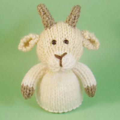 Goat Toy Knitting Pattern (PDF)