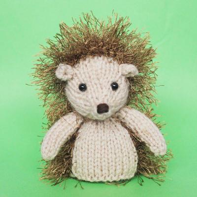 Hedgehog Toy Knitting Pattern