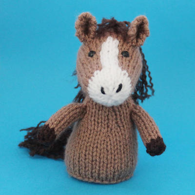 Horse Toy Knitting Pattern (PDF)