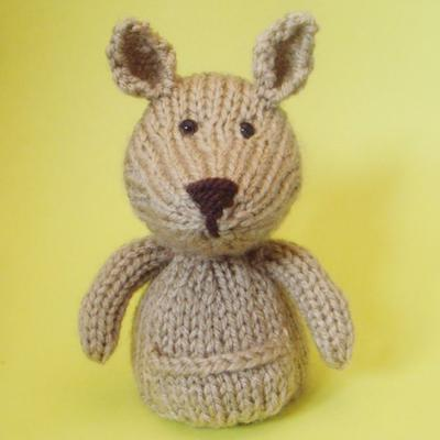 Kangaroo Toy Knitting Pattern