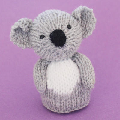 Koala Toy Knitting Pattern (PDF)