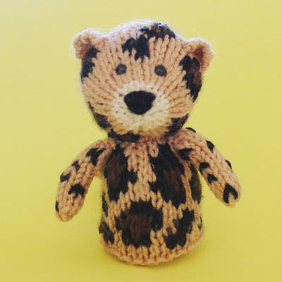 Leopard Toy Knitting Pattern