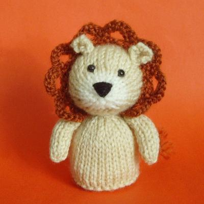 Lion Toy Knitting Pattern