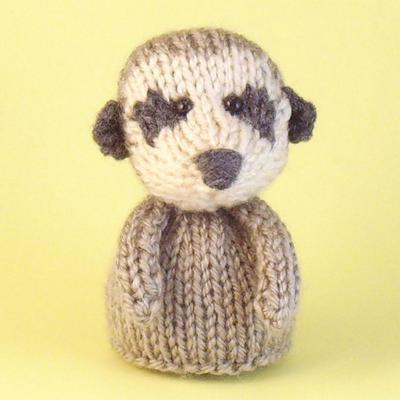 Meerkat Toy Knitting Pattern