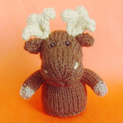 Moose Toy Knitting Pattern