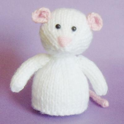 Mouse Toy Knitting Pattern