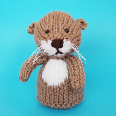 Otter Toy Knitting Pattern (PDF)