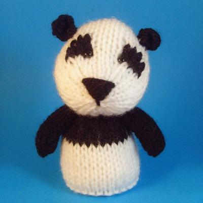 Panda Toy Knitting Pattern (PDF)