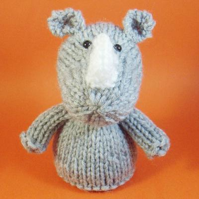 Rhino Toy Knitting Pattern