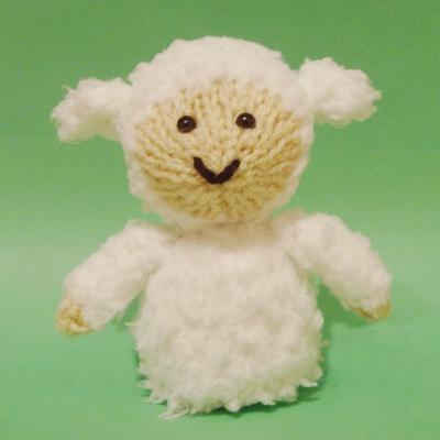 Sheep Toy Knitting Pattern