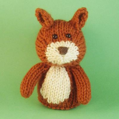 Squirrel Toy Knitting Pattern (PDF)