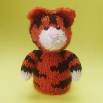 Tiger Toy Knitting Pattern