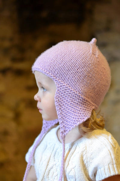 Girls Hats - cosy ears Aviator hat