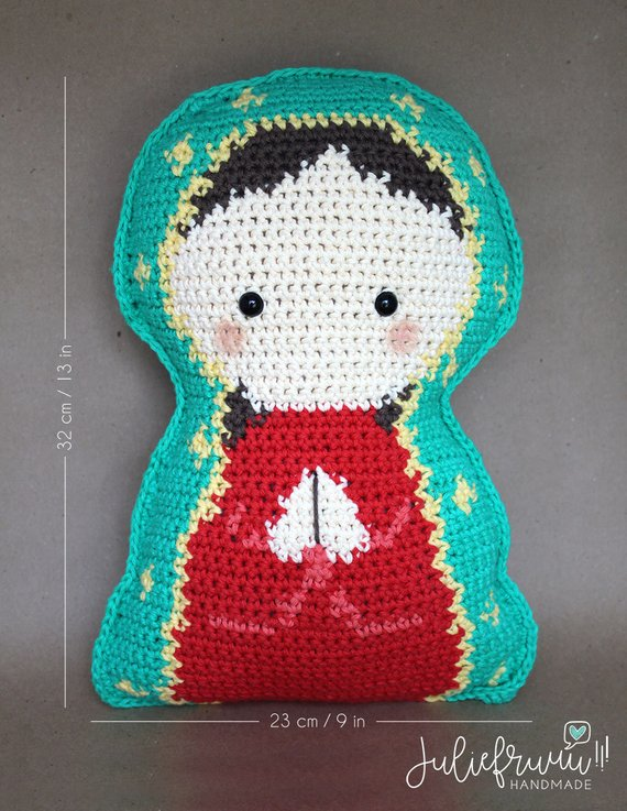 Our Lady of Guadalupe Pillow Plushie