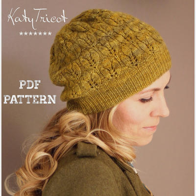 Crocus Hat Knitting Pattern (Sizes: Toddler through Adult)