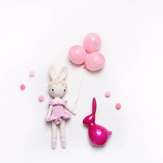 kikalite Ballerina Bunny Charlotte - Crochet pattern