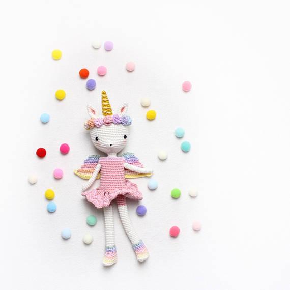 kikalite - Unicorn Emma - crochet pattern