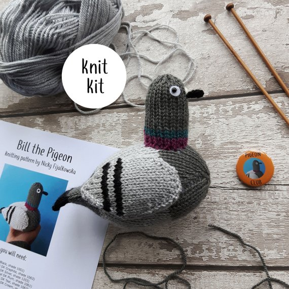 Pigeon knit kit