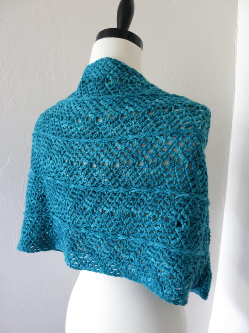Winter Wrap Infinity Scarf or Cowl - Crochet Pattern