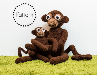 Crochet Monkey Pattern