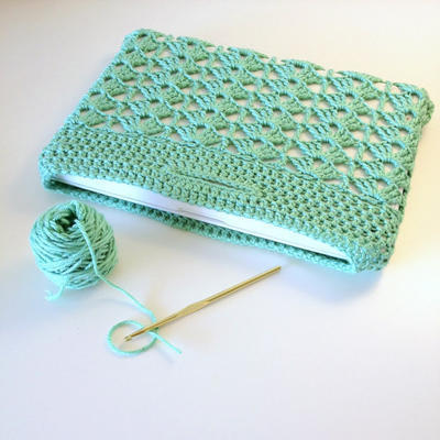 Laptop Sleeve Crochet Pattern