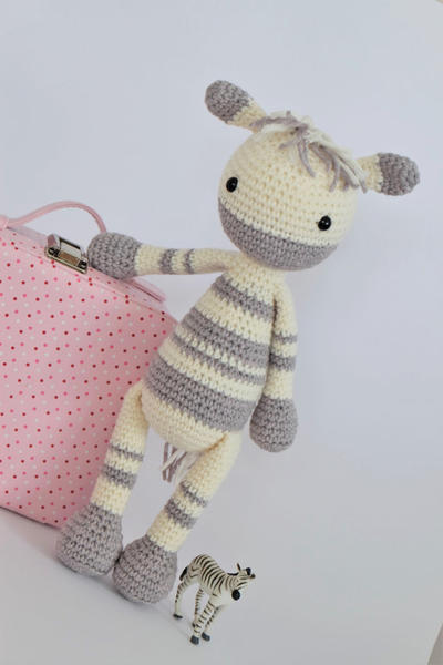 Amigurumi Knitting Crocheted amigurumi zebra (amigurumi zebra ...   600x400