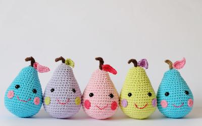 Happy Pear Amigurumi Pattern