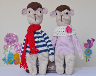 Monkey Amigurumi Doll Pattern