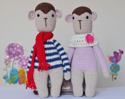 Monkey Amigurumi Doll Pattern