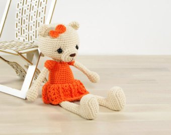 Amigurumi Bear Crochet Tutorial | 270x340