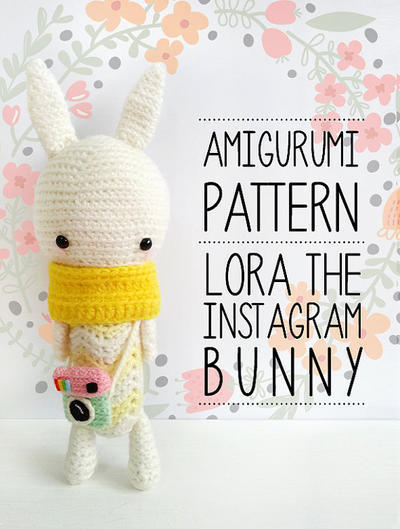 Lora the Instagram Bunny pattern