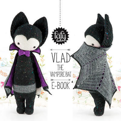 Lalylala Halloween Pattern, The Vampire Bat