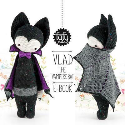 Lalylala Halloween Pattern, The Vampire Bat