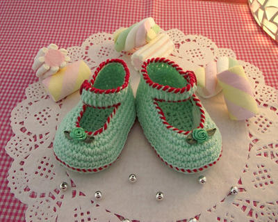 Baby Booties shoes Pattern