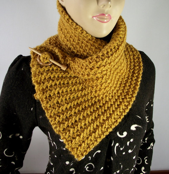Boston Scarf Cowl Pattern Instant Download Tutorial