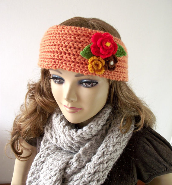 Candy Headband - Headwrap Knitted ears warmer