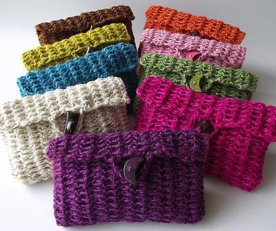 Clutch Bag Pouch Bag Crochet Purse Bag pdf pattern