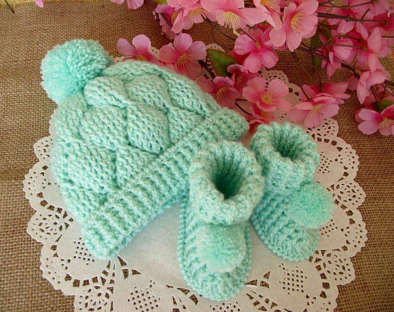Diamonds Baby crochet Patterns