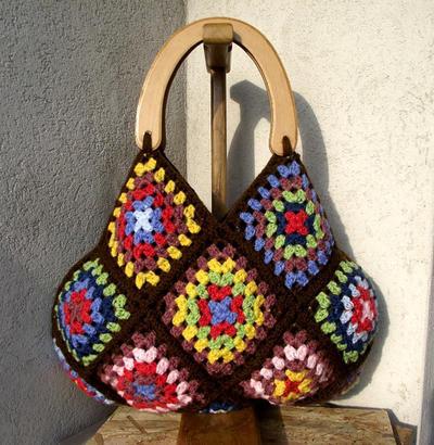 Granny Squares Handbag Pattern