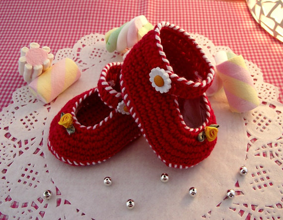 Little Lilly Baby crochet Shoes Pattern ballerina for babies girls